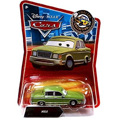 Disney / Pixar CARS Movie Exclusive 155 Die Cast Car Final Lap Milo: Toys & Games