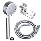 CIENCIA Aluminum Shower Head Sets for Bathroom Filtered Showerhead Hand Held Shower Head Rainfall Showerhead with Hose and Holder, BS141(AL)