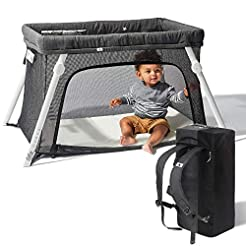 Lotus Travel Crib - Backpack Portable, L...
