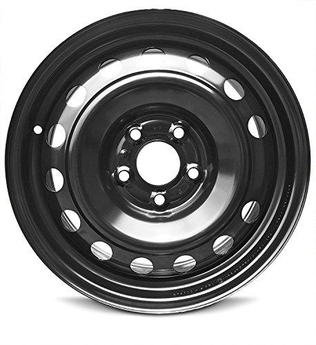 Road Ready Car Wheel For 2014-2019 Kia Soul 16 Inch 5 Lug Black Steel Rim Fits R17 Tire - Exact OEM Replacement - Full-Size Spare (Soul Kia Rims)