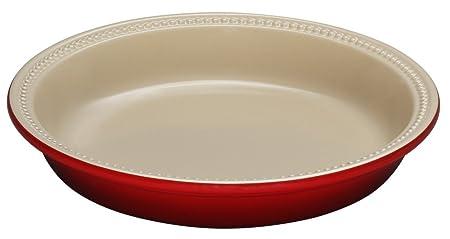 LE CREUSET - Fuente de Horno Redonda de cerámica (24 cm), Color ...