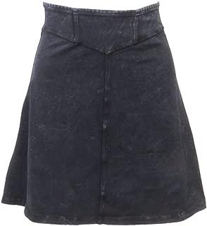 product image for Junior Denim A-line Skirt (M, Dark Denim)