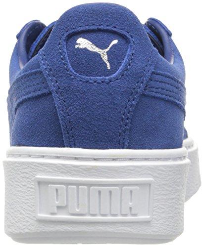 PUMA Women's Suede Platform core Fashion Sneaker Peacoat, 9.5 M US by PUMA (Image #2)