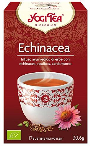 Yogi Tea Infusion de Hierbas Echinacea, 1 Pack de 17 bols