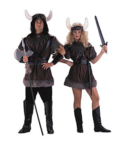 Charades Unisex Adult Panne Velvet Viking Costume, Medium ()