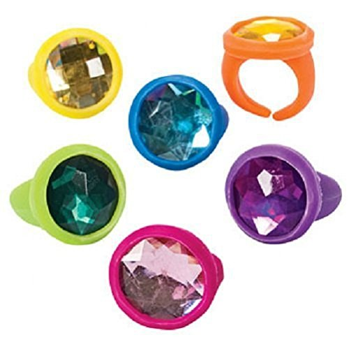 Assorted Bright Color Rubber Favors