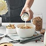 DOWAN Deep Soup Bowls, 30 Ounces White Cereal Bowl