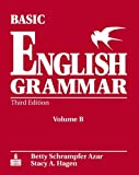 Basic English Grammar Workbook B with Answer Key, Azar and Azar, Betty Schrampfer, 0131849360