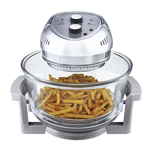 Big Boss Oil-less Air Fryer, 16 Quart, 1300 watt, Silver