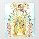 Society6 Holy cats! Throw Blankets 88'' x 104'' Blanket