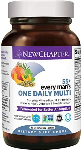 Multivitamins: New Chapter Every Man 55+