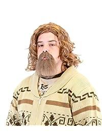 The Big Lebowski Dude Wig and Goatee Costume Set