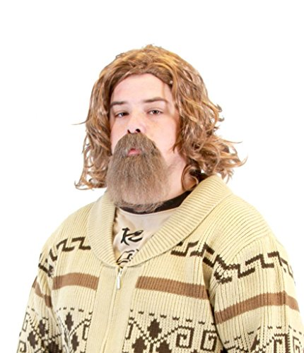 Dude Big The Costume Lebowski (The Big Lebowski Dude Wig and Goatee Costume)
