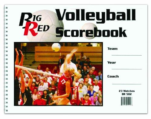 Accuscore Volleyball Scorebook