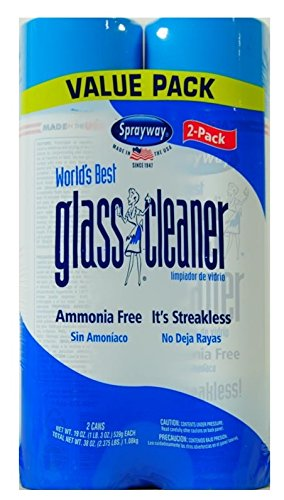 Sprayway Value Pack World's Best Glass Cleaner,19 oz (Pack of 5) Brand New and Fast Shipping by Sprayway (Image #2)