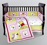 Disney Precious Pooh 5-Piece Crib Bedding Set, Baby & Kids Zone
