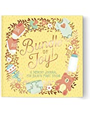 """Studio Oh!""""Baby's First Years-Bundle of Joy"""" Guided Journal"""