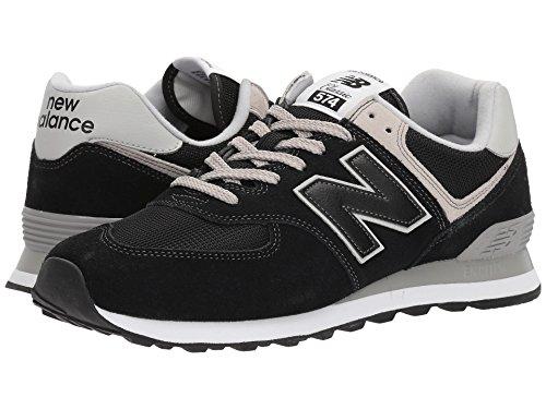 [new balance(ニューバランス)] メンズランニングシューズ?スニーカー?靴 ML574v2 Black/Black 6.5 (24.5cm) D - Medium