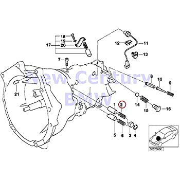 Amazon Com 3 X Bmw Genuine Individual Transmission Parts