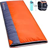 Norsens Portable Lightweight Sleeping Bag Warm Weather for Camping Hiking Backpacking Indoor