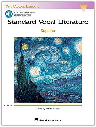 - Hal Leonard Standard Vocal Literature - Soprano Book & CD