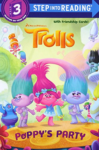 Poppy's Party (DreamWorks Trolls) (Step into Reading) 2nd Grade Reading Level Books