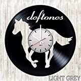 Deftones Handmade Vinyl Record Wall Clock – Get unique living room wall decor – Gift ideas for boys and girls, teens – Rock Music Unique Modern Art Design