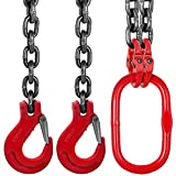 Mophorn 5FT Chain Sling 0.375In x 5Ft Double Leg
