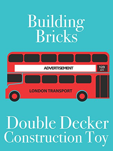 Clip: Building Bricks Double Decker Construction Toy