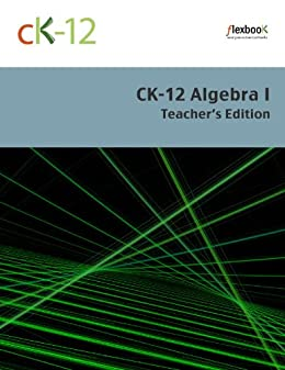CK 12 Algebra I Teachers Foundation ebook product image