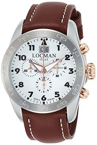 LOCMAN watch ISOLA D'ELBA 0460M08-0RWHBKPN Men's