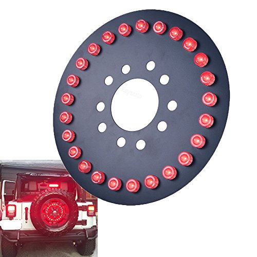 jeep spare tire extension - 2