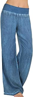 Pantalones Mujer Pantalones Pantalon Libre Simple Tiempo De Anchos Estilo Elastische Taille Tallas Grandes Elegantes Primavera Otoño Anchos Largos