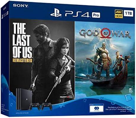 Amazon Com Ps4 Sony Playstation 4 Pro God Of War Bundle