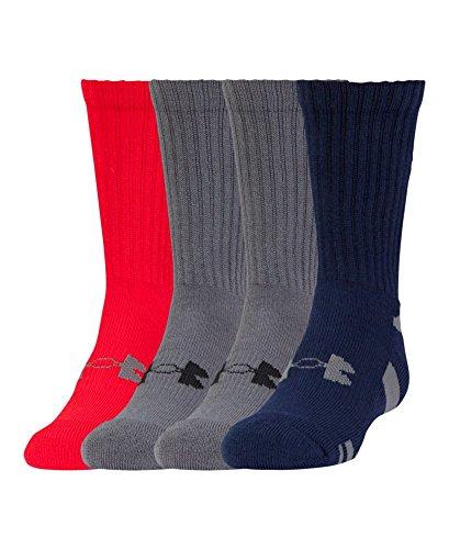 Under Armour Boys HeatGear Crew Socks