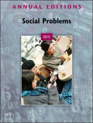 Annual Editions: Social Problems 10/11