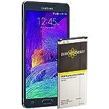 Batería QUANTUM ENERGY para Samsung Galaxy Note 4, 3,220 mAh Batería Li-Ion para el Galaxy Note 4 N910, N910U LTE, AT&T N910A, Verizon N910V, Sprint N910P, ...