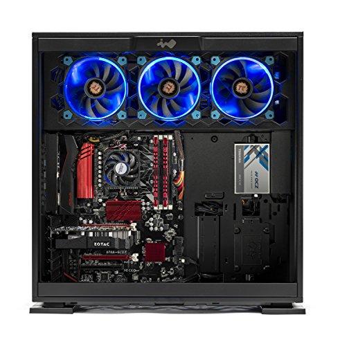 SkyTech Legacy - Gaming Computer PC Desktop - AMD 8-Core FX-8300 3.3 GHz, 120GB SSD, GTX 1060 3GB, 1TB HDD, 16GB DDR3, 970 Chipset Motherboard, WIN 10 Home (GTX 1060 3G | FX-8300 | 16GB | 120GB SSD) by Skytech Gaming (Image #1)