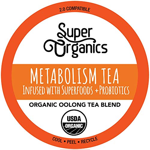 Super Organics Metabolism Oolong Tea Pods With Superfoods