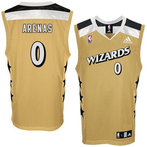newest collection bc8be 570ac Amazon.com : adidas Washington Wizards #0 Gilbert Arenas ...