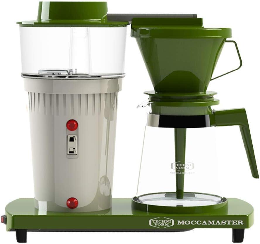 /Coffee Moccamaster 68/Jubileum Model Freestanding/ Filter, 1/L, 1520/W Freestanding, Coffee, Green, White