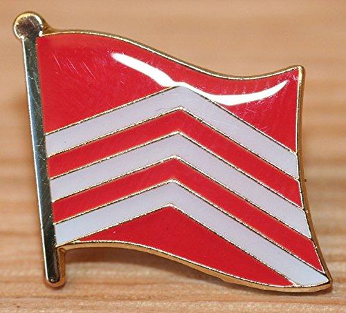 Vale of Glamorgan Wales County Flag Enamel Pin Badge