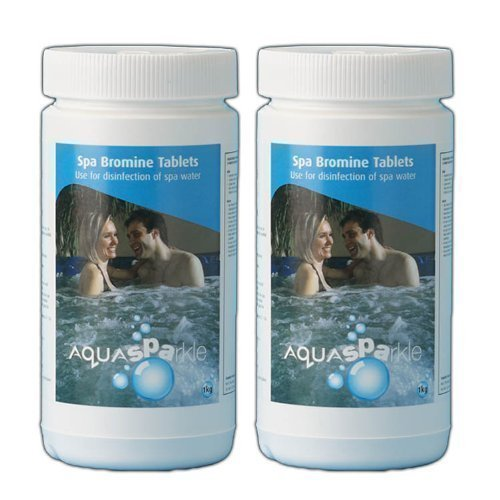 Happy Hot Tubs 2kg Bromine Tablets *CLASS 1* Hot Tub Swimming Pool Spa Chemicals Odourless Tubs