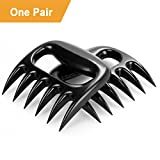 Pulled Pork Shredder Claws – Rantizon Meat Handler Forks, Strong Meat Claws for Shredding Handling & Carving Food, Easily Lift, Handle, and Cut Meats, for BBQ / Oven Grill / Shred Beef [Set of 2]