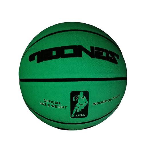 DUTUI Balón de Baloncesto Luminoso automático, Luminoso ...