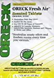 vacuum cleaner scent tabs - 12 Oreck Fresh Air Tab Vacuum Cleaner Scent Tablets Deodorizing
