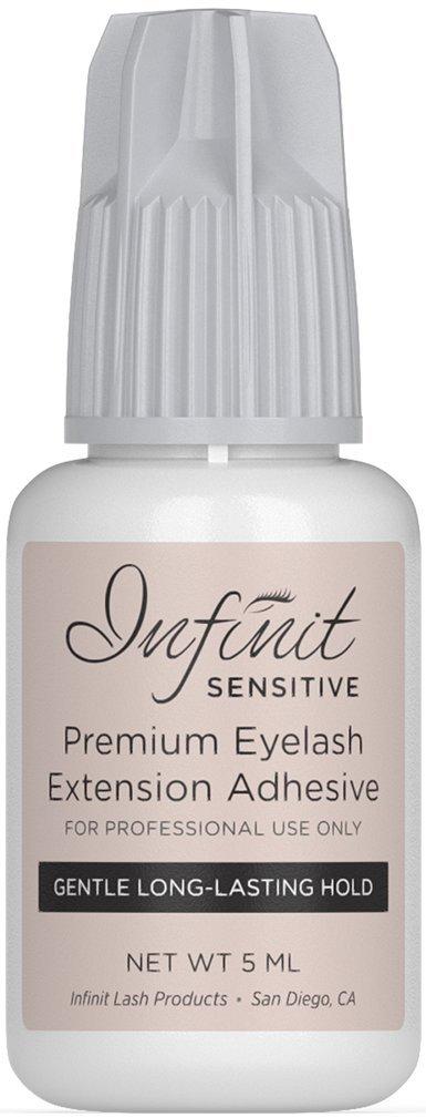 Eyelash Extension Glue - Sensitive Eyelash Glue for Individual Eyelashes | 5-7 Sec Drying Time | Retention - 5 Weeks | Low Fume Sensitive Lash Glue | Black Eyelash Glue For Professional Use Only | 5ML