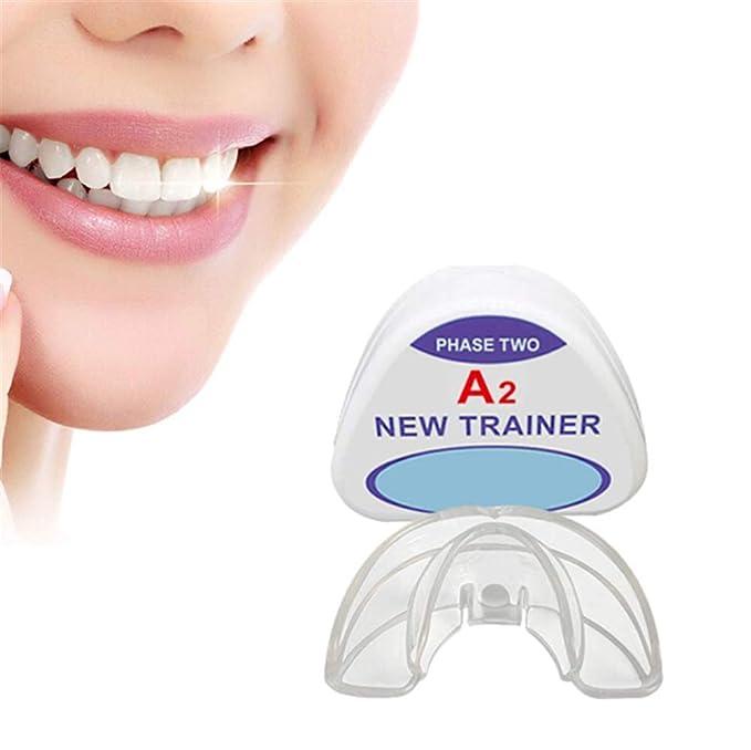 DDPP Ortodoncia ortodoncia, ortodoncia aparatos de ortodoncia en la Noche, Caja de Almacenamiento (2 etapas, Adecuado para Diferentes Condiciones dentales),A2: Amazon.es: Hogar