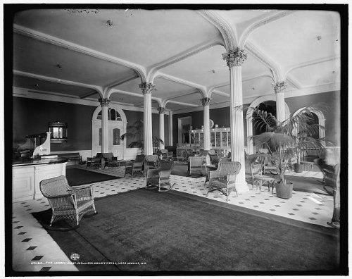 Photo: Lobby,resorts,interiors,Fort William Henry Hotel,Lake George,New - George Shopping Ny Lake