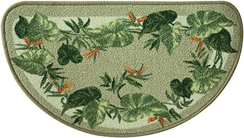Bacova Guild Classic Berber Skid-Resistant Accent Rug, Tropical Border, 32